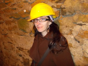 Exploring the mines in Goslar, Germany